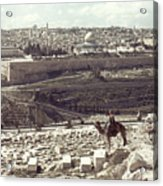 Holy Land: Jerusalem Acrylic Print