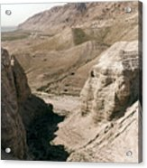 Holy Land: Qumran Caves Acrylic Print
