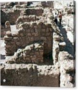 Holy Land: Qumran Ruins Acrylic Print
