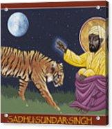 Holy Sadhu Sundar Singh 189 Acrylic Print