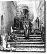 Holy Sepulchre Stairs Acrylic Print