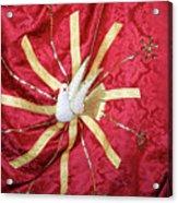 Holy Spirit Flag Acrylic Print