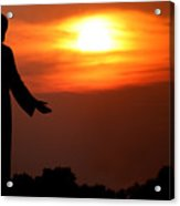 Holy Sunset Acrylic Print