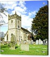 Holy Trinity Church - Ashford-in-the-water Acrylic Print