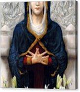 Holy Woman Acrylic Print