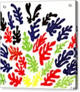 Homage To Matisse Acrylic Print by Teddy Campagna
