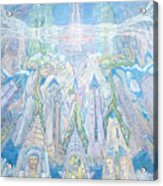 Homage To New York And The Chrysler Building Acrylic Print