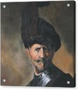 Homage To Rembrandt Acrylic Print