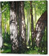 Homage To Renoir Acrylic Print