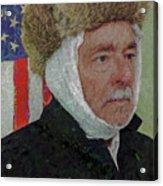 Homage To Van Gogh Selfie Acrylic Print