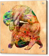 Hombre Triste Acrylic Print