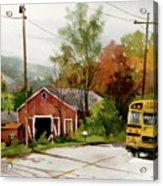 Home Bus Acrylic Print