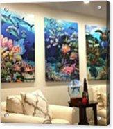 Home Decorations Acrylic Print