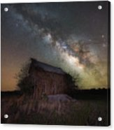 Home Grown Milky Way  Acrylic Print