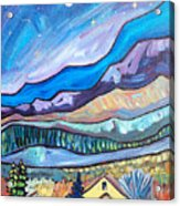Home In The Hills Acrylic Print