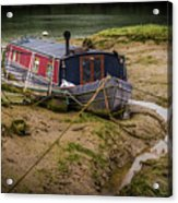 Home Is On The Mud Acrylic Print