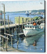 Home Of Her Berth Acrylic Print