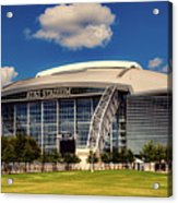 Home Of The Dallas Cowboys Acrylic Print