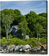 Home On Little Diamond Island Acrylic Print