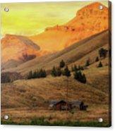 Home On The Range In Antelope Oregon Acrylic Print