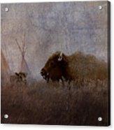 Home On The Range Acrylic Print by Ron Jones