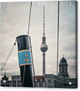 Home Port Berlin Acrylic Print