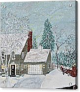 Winter Home Acrylic Print