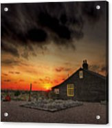 Home To Derek Jarman Acrylic Print by Lee-Anne Rafferty-Evans
