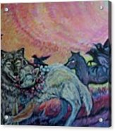 Homecoming Wolves And Ravens Acrylic Print