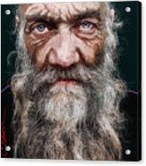 Homeless Veteran Acrylic Print