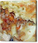 Homemade Lasagna Acrylic Print