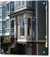 Homes Of San Francisco Acrylic Print