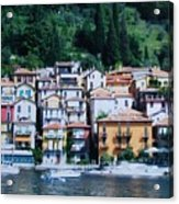 Homes Uphill In Italy Acrylic Print
