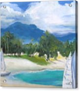 Homesick For Hawaii Acrylic Print