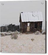 Homestead in Winter - Circa 1856 Acrylic Print