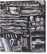 Homestead Interior Historical Vignette Acrylic Print