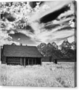 Homestead Mormon Row Acrylic Print