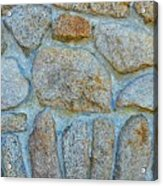 Homestead Stonework Acrylic Print