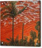 Homestead Sunset Acrylic Print