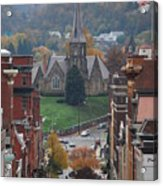 My Hometown Cumberland, Maryland Acrylic Print