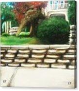 Hometown Garden Acrylic Print