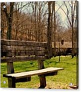 Hometown Series - Have A Seat Acrylic Print