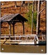 Hometown Series - Sherando Lake -2 Acrylic Print