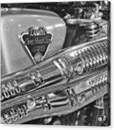 Honda Cl450 Scrambler Acrylic Print by William Jones