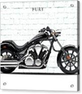 Honda Fury Acrylic Print