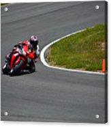 Honda Takes Turn 11 No 1 Acrylic Print