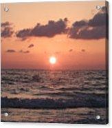 Honey Moon Island Sunset Acrylic Print