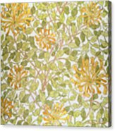 Honeysuckle Design Acrylic Print