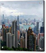 Hong Kong After Rain Acrylic Print