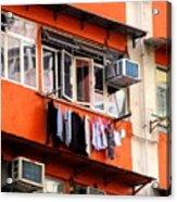 Hong Kong Apartment 12 Acrylic Print